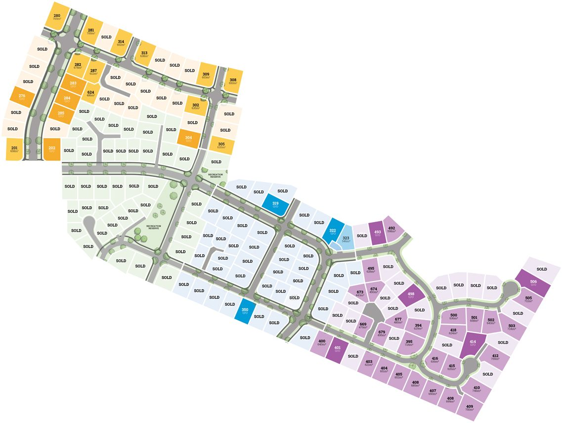 Flemington Plan Map